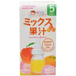 和光堂 飲みたいぶんだけ ミックス果汁 5g×10包 5か月頃から ベビー&キッズ ジュース(ベビー用)