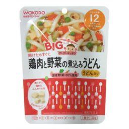 和光堂 和光堂 BIGサイズのグーグーキッチン 鶏肉と野菜の煮込みうどん 12か月頃から 120g ベビー&キッズ 離乳食 完了期 肉類(12ヶ月頃から)