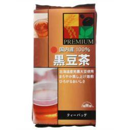 梶商店 健茶館 プレミアム黒豆茶 8g×18袋 健康食品 黒豆茶(黒大豆茶)