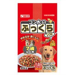 サンライズ ゴン太のふっくらソフト 7歳以上用 (250g×12袋) ペット用品 ドッグフード(高齢犬・シニア用)