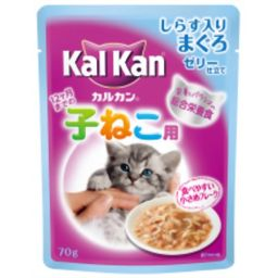 マースジャパンリミテッド カルカンパウチ 味わいセレクト しらす入りまぐろ 子猫用 70g ペット用品 猫缶・レトルト(幼猫・キトン用)