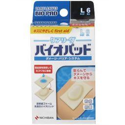 ニチバン ケアリーヴ バイオパッド Lサイズ 6枚入 B6L 衛生医療 ハイドロフィリック素材絆創膏