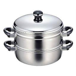 宮崎製作所 オブジェ 蒸し器 28cm OJ-19-1S ホーム&キッチン 蒸し器・せいろ
