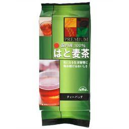 梶商店 健茶館 プレミアムはと麦茶 7g×18ティーバッグ 健康食品 はとむぎ茶(ハトムギ茶)
