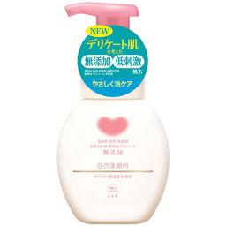 牛乳石鹸共進社 カウブランド 無添加 泡の洗顔料 ポンプ 200ml 化粧品 無添加洗顔