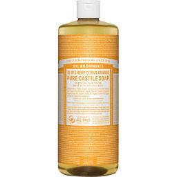 サハラ・インターナショナル ドクターブロナー マジックソープ シトラスオレンジ 944ml (正規輸入品) 化粧品 液体洗顔料