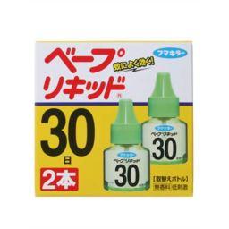 フマキラー ベープリキッド 30日 無香料 2本入 日用品 蚊取り器 取替えリキッド