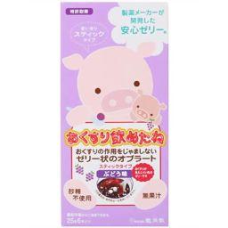 龍角散 おくすり飲めたね ぶどう味 スティックタイプ 25g×6本 衛生医療 オブラート ゼリータイプ(服薬ゼリー)