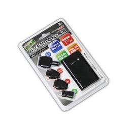 日本トラストテクノロジー 【在庫限り】JTT iPhone対応 USB大容量バッテリー MyBattery SLIM Multi/MBSLIMMULTI 家電 デジタルオーディオ・音楽用バッテリー