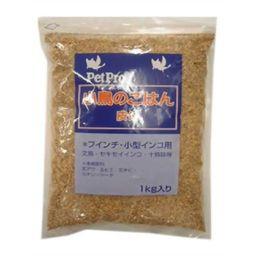 ペットプロジャパン ペットプロ 小鳥のごはん 皮付 1kg ペット用品 バードフード(鳥・小鳥用)