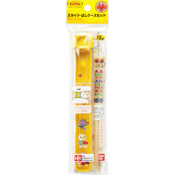 レック アンパンマンランチ スライド・はしケースセット ホーム&キッチン マイ箸(携帯用箸)