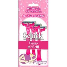 シック・ジャパン シック Tディスポ ボディ用 3本入り 化粧品 女性用シェーバー(カミソリ)ホルダー