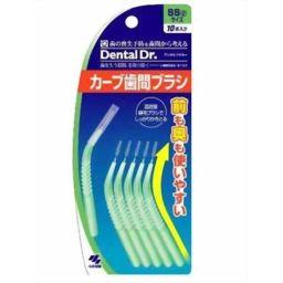 小林製薬 Dental Dr. カーブ歯間ブラシ SS 10本入 日用品 歯間ブラシ