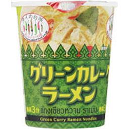 アライドコーポレーション 【ケース販売】タイの台所 グリーンカレーラーメン 70g×12個 (カップ) フード インスタント麺