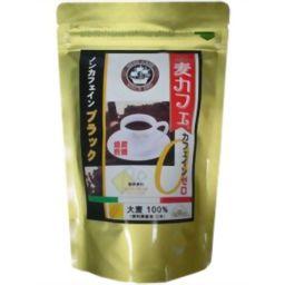 梶商店 健茶館 麦カフェ ノンカフェインブラック 4.5g×18包 健康食品 大麦コーヒー・オルゾ