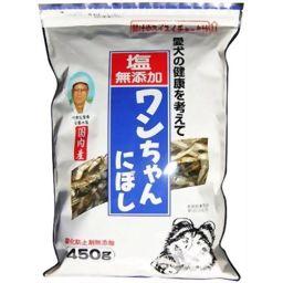 サカモト 塩無添加 ワンちゃんにぼし 450g ペット用品 犬用おやつ全部
