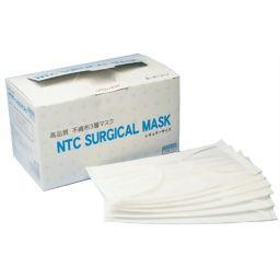 NTC 【訳あり】NTC サージカルマスク 不織布 3層マスク ふつう 50枚入 衛生医療 サージカルマスク