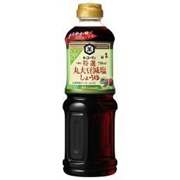 キッコーマン食品 キッコーマン 特選 丸大豆 減塩しょうゆ 750ml フード 減塩醤油
