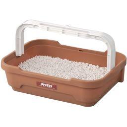 ボンビアルコン ボンビ しつけるトイレC-S ブラウン ペット用品 トレー・トイレ容器(猫用)