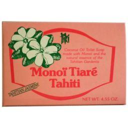 ミヤ恒産 タヒチモノイティアレ石鹸 タヒチアンジャスミン 日用品 化粧石鹸(固形)
