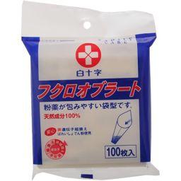 白十字 FC フクロオブラート 100枚 衛生医療 オブラート袋型