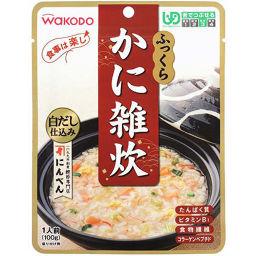 和光堂 和光堂 食事は楽し ふっくらかに雑炊 (区分3/舌でつぶせる) 100g 介護 介護食