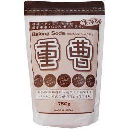 地の塩社 重曹 Baking Soda 750g 日用品 重曹