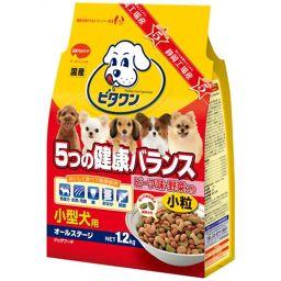 日本ペットフード ビタワン 5つの健康バランス ビーフ味小粒 1.2kg ペット用品 ドッグフード(成犬・アダルト用)