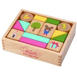 ニチガンオリジナル くまのがっこう だいすきおとつみき KG1 ベビー&キッズ ブロック(積み木)・木のおもちゃ