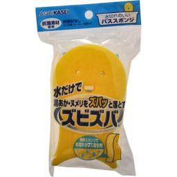 旭化成ホームプロダクツ ズビズバ 水切れのいいバススポンジ 日用品 風呂用スポンジ・ブラシ