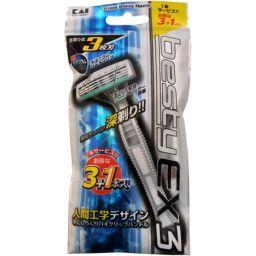 3065(3065) ベスティーEX3 3本入 化粧品 使い捨てカミソリ
