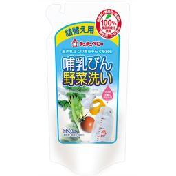 ジェクス チュチュベビー 哺乳びん野菜洗い 詰替え用 720ml ベビー&キッズ 哺乳瓶消毒(洗剤)