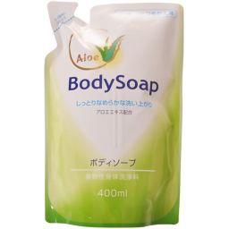 第一石鹸 アロエボディソープ つめかえ用 400ml 日用品 ボディソープ全部