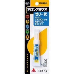 東亜合成 アロンアルファ ゼリー状 31303 4g DIY・ガーデン 接着剤