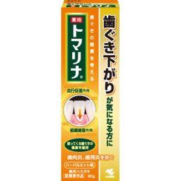 小林製薬 薬用トマリナ 90g 日用品 歯周病歯磨き