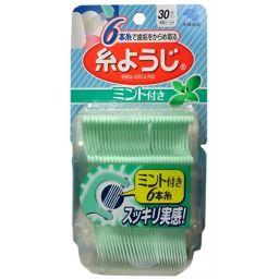 小林製薬 糸ようじ ミント付き 30本入 日用品 歯間ブラシ