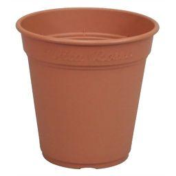 アップルウエアー ロゼアポット 240型 ブラウン DIY・ガーデン 鉢・プランター