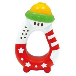ローヤル 【在庫限り】ファーストトイ 哺乳瓶ラッパ ベビー&キッズ 乳児用おもちゃ(1歳未満)