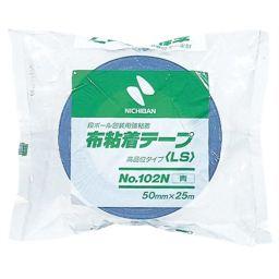 ニチバン ニチバン 段ボール包装用 布粘着テープ(LS) 50mm 青 No.102N ホーム&キッチン ガムテープ・クラフトテープ