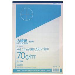 コクヨS&T コクヨ グラフ用紙 A4 1mm方眼 50枚 ホーム&キッチン 方眼紙