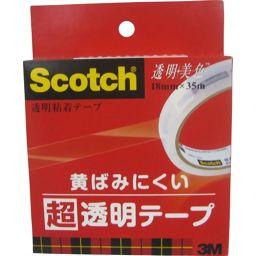 スリーエムジャパン スコッチ 透明美色 超透明テープ 18mm BH-18 ホーム&キッチン テープ