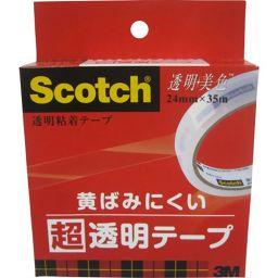 スリーエムジャパン スコッチ 透明美色 超透明テープ 24mm BH-24 ホーム&キッチン テープ