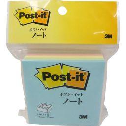 スリーエムジャパン ポストイット カラーキューブ レギュラー スクエア 45枚×5色 CP-33 ホーム&キッチン 付箋
