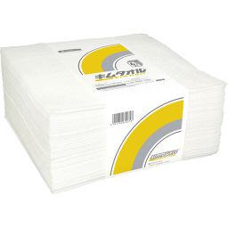 日本製紙クレシア 業務用 キムタオル ホワイト 4つ折り ストロング 6プライ 40枚 日用品 お掃除クロス