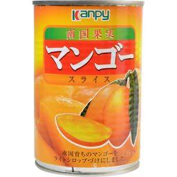 加藤産業 カンピー マンゴー スライス 4号缶 425g フード マンゴー(缶詰)
