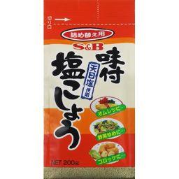 エスビー食品 S&B 袋入り 味付塩こしょう 200g フード 塩胡椒