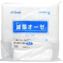 オオサキメディカル 綿状パッド 滅菌オーゼ S5号 40枚入 衛生医療 ガーゼ全部