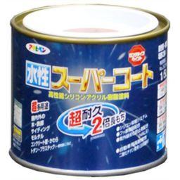 アサヒペン アサヒペン 水性スーパーコート オータムブラウン 1/5L DIY・ガーデン 水性塗料(多用途)