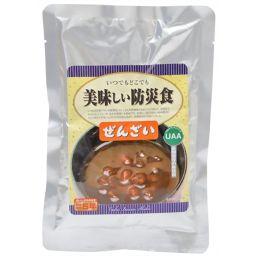 アルファフーズ 美味しい防災食 ぜんざい 150g フード 非常食(保存食)
