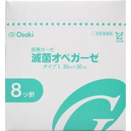 オオサキメディカル 滅菌オペガーゼ RS8-1 80袋 衛生医療 医療ガーゼタイプI